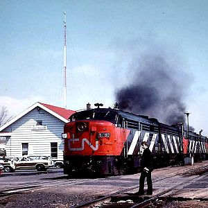 CN at Brockville, Ontario