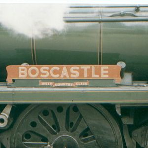 B.R./S.R. Pacific Nameplate