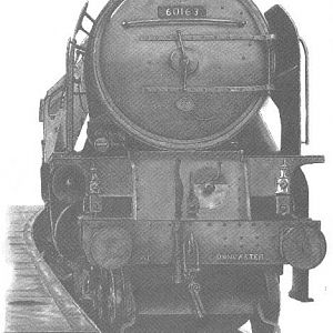 U.K. New-build Class A1 Pacific