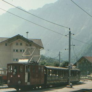 Swiss narrow-gauge