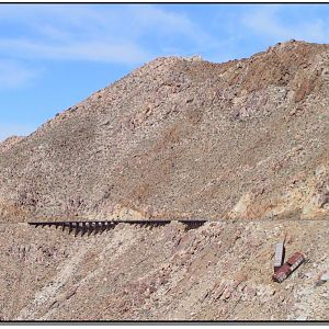 SP Cement Cars - Carrizo Gorge