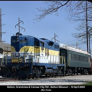 Belton, Grandview & Kansas City Railroad #102