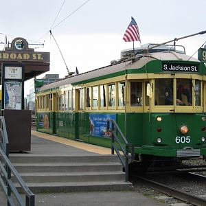 Seattle Waterfront Trolley