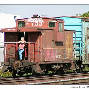 brakeman waiting on signal