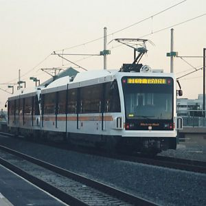 LA's New Light Rail Line.
