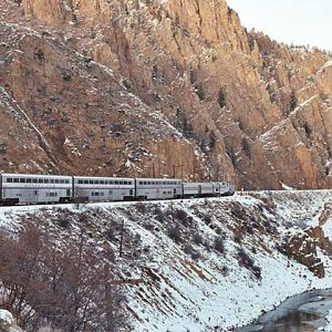 Byers Canyon via Amtrak's California Zephyr