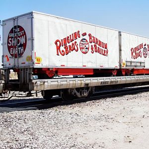 Barnum & Bailey Circus Red Train