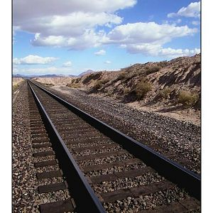 rails thru the mojave