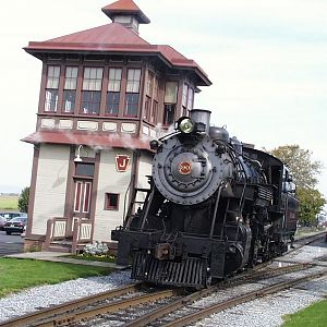 Strasburg Railroad 2-10-0  90
