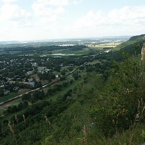 La Crosse from on high
