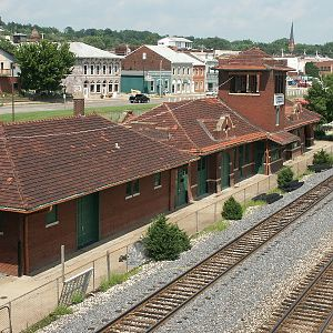 Fort Madison CB&Q Depot