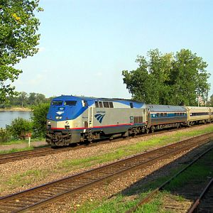 Amtrak at Washington, Mo.