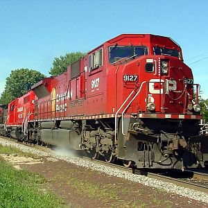 CP SD90 East to Chicago