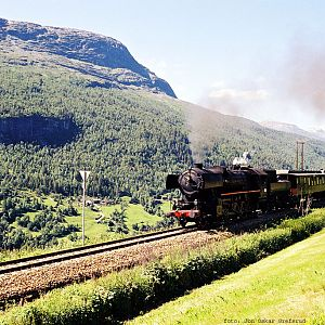 Romsdalen with steam.