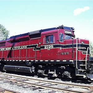 New Hope & Ivyland GP30 2198
