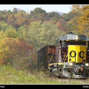 October Coal Train
