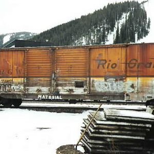 DRGW 63797 @ Winter park,Co