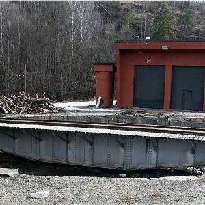 Engineshed at Notodden