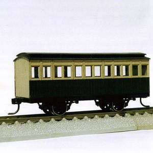 Passenger car of Meiji Era in Japan