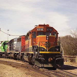 BNSF'S East Thomas Yard