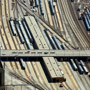 Metra Yard from 103 Floors Up