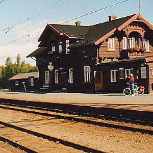 Old Norwegian RR Station