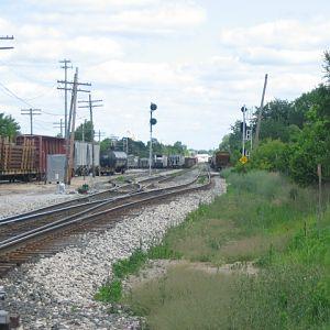 CSX's Ensel Yard in Lansing, Michigan | RailroadForums com