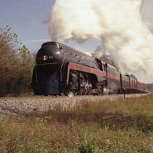 N&W 611 Fall Steam Excursion