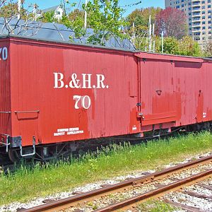 Old Freight Car, Maine NGRR