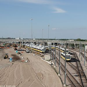 D.A.R.T. Light Rail Yard - Dallas TX