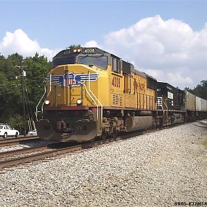 Union Pacific on NS