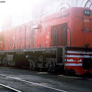 Locomotives in Mayrink 5