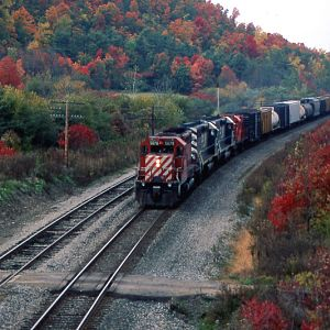 Southern Tier Line in Autumn