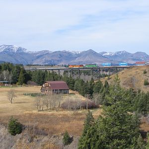 BNSF - Two Medicine Bridge