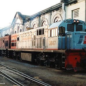 Locomotives in Mayrink 51