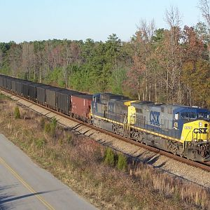 Coal train at North Collier