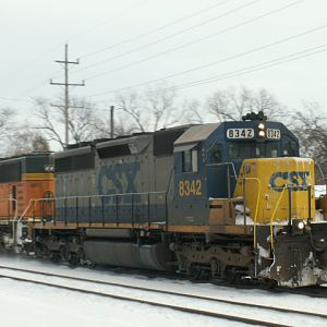 CSX on a Coal Train