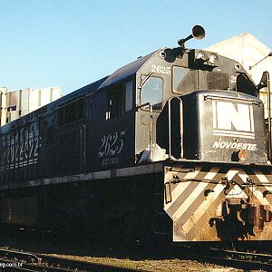 Locomotives in Mayrink 56