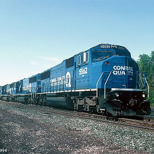 Southbound (then West ) Conrail ENG-431
