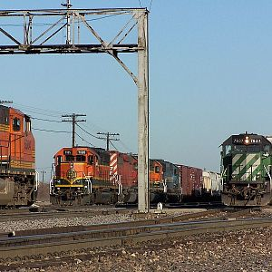 Watch out BNSF 7185!