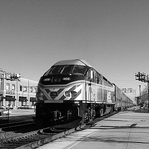 Metra MP36 405 at La Grange Road