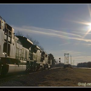 UP 5140 - SD70M - M.J. Scanlon