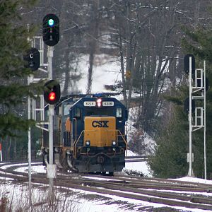 CSX light engines