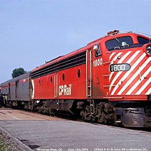 CPRail Red Lady - 1948 E-8