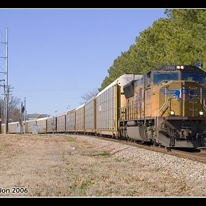 UP 3894 - SD70M - M.J. Scanlon