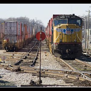 UP 4495 - SD70M - M.J. Scanlon