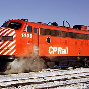 An other Canadian Pacific red lady