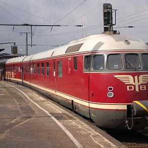 VT 502 / Train of the Soccer Worldchampionchip 1954