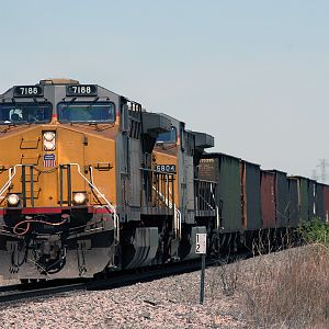 UP 7188 Coal Train