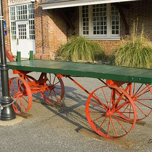 REA Baggage Cart